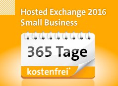 Hosted Exchange Small Business 365 Tage