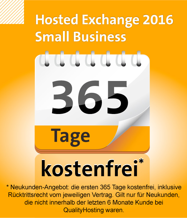 Hosted Exchange 2016 Small Business