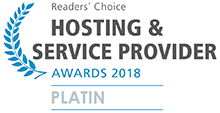 Readers' Choice Hosting Award 2018